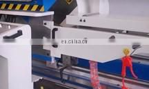 Aluminum machine profile cutting with CNC automatic feeding system