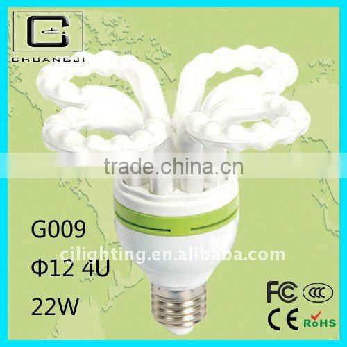 high quality high output high efficiency flower energy saving lamp parts
