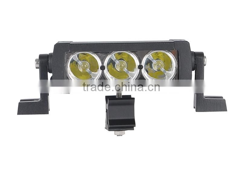 Mini Single row 5W Crees 5 inch led light bar 10-30V DC led offroad work light for heavy duty 4x4 ATV