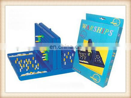 plastic best desktop game toy Naval battle chess