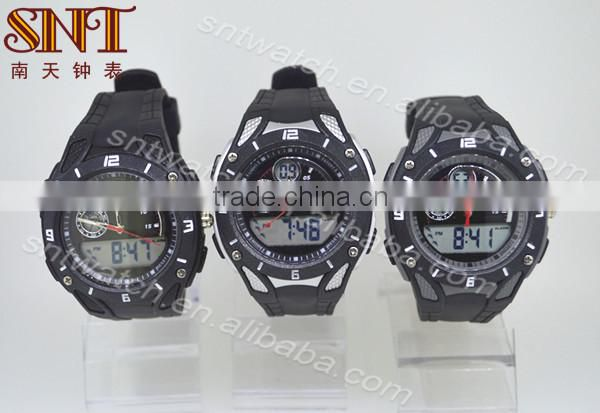 SNT-SP050 waterproof sport watch digital watch with two movement