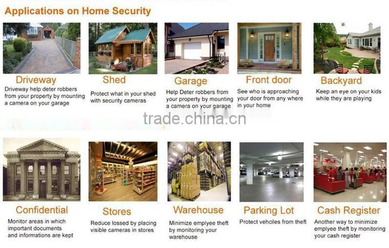 Best Sale high resolution 700tvl 960h security camera made in China