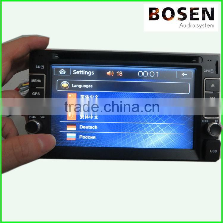 touch screen car dvd player with GPS TV BT hot sale price