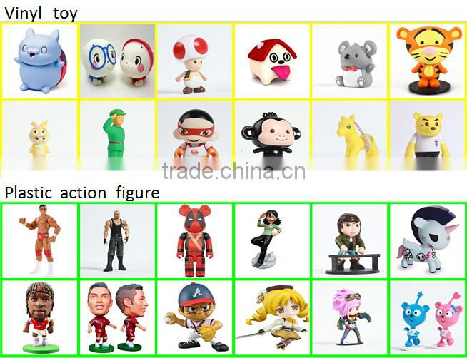 custom made pvc figure toy for adult/any size custom anime pvc figure/custom plastic figure with cartoon character