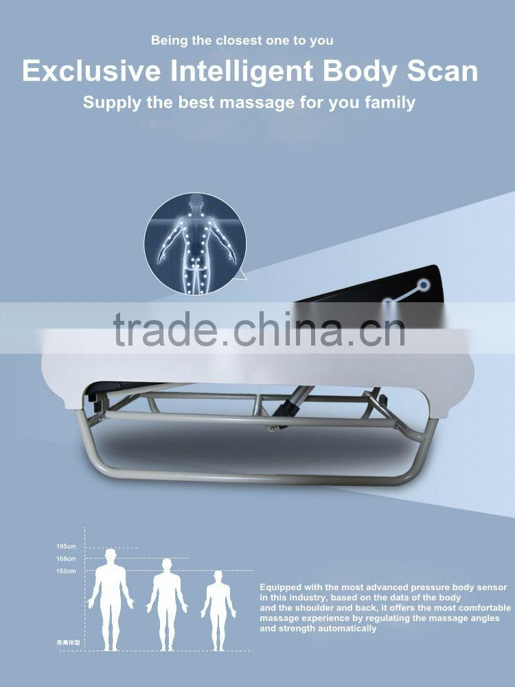 Energy security jade massage bed