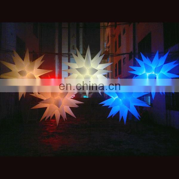 Factory direct Cheap inflatable star for stage decoration