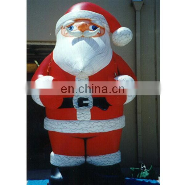 inflatable outdoor christmas decoration,inflatable santa claus character