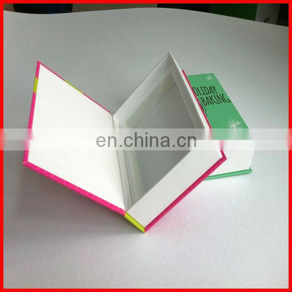 Black rectangle gift box for packaging