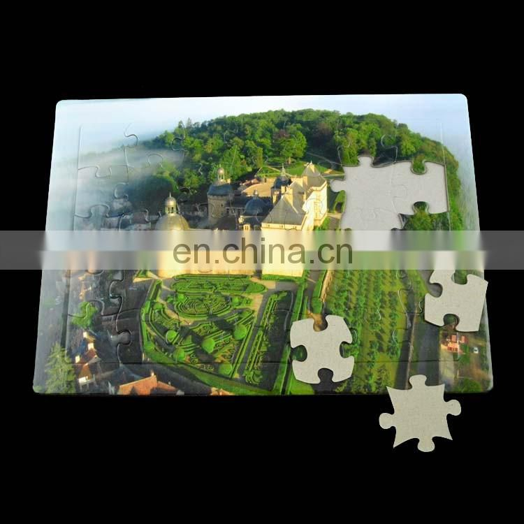 OEM Design Printed Customized Paper Puzzle For Promotion
