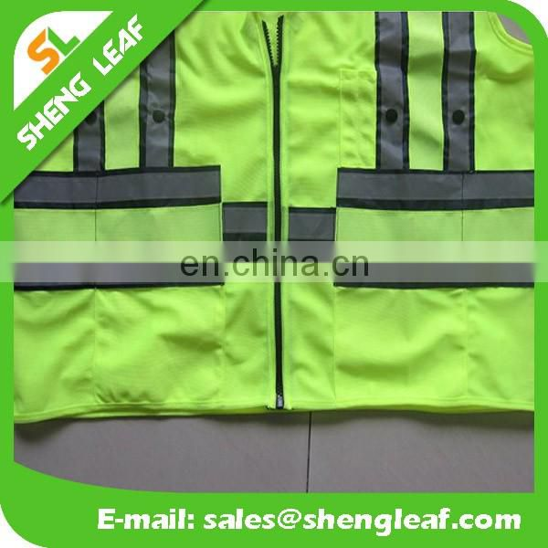 Hi vis workwear safety vest road safety protection vest