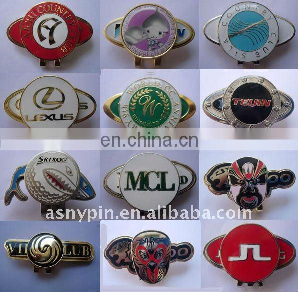 golf ball marker/golf accessories/engraved ball mark