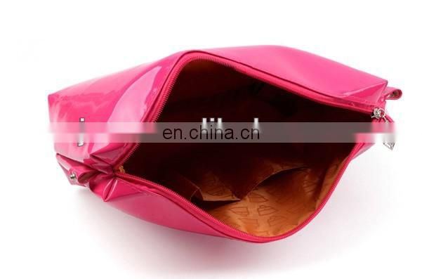 fashion pink pvc big beach totes bag