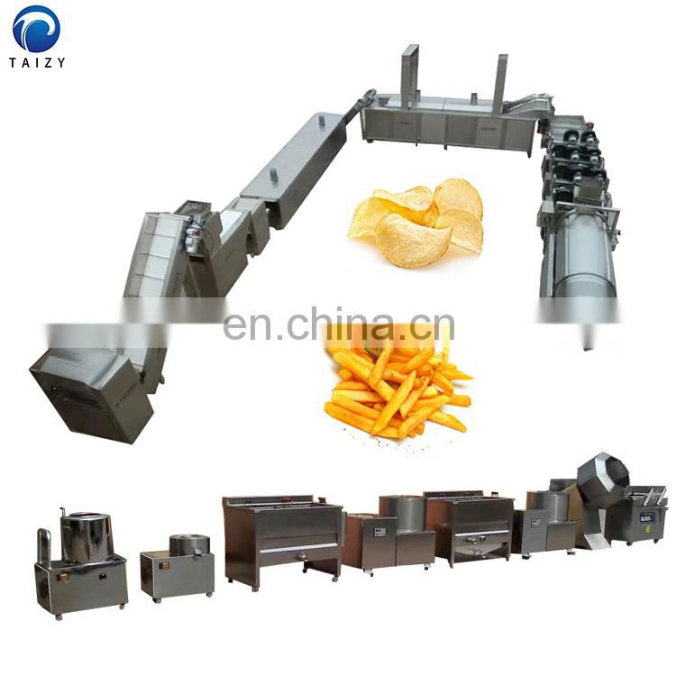 potato chips machine price french fries equipment fried potato chips production line