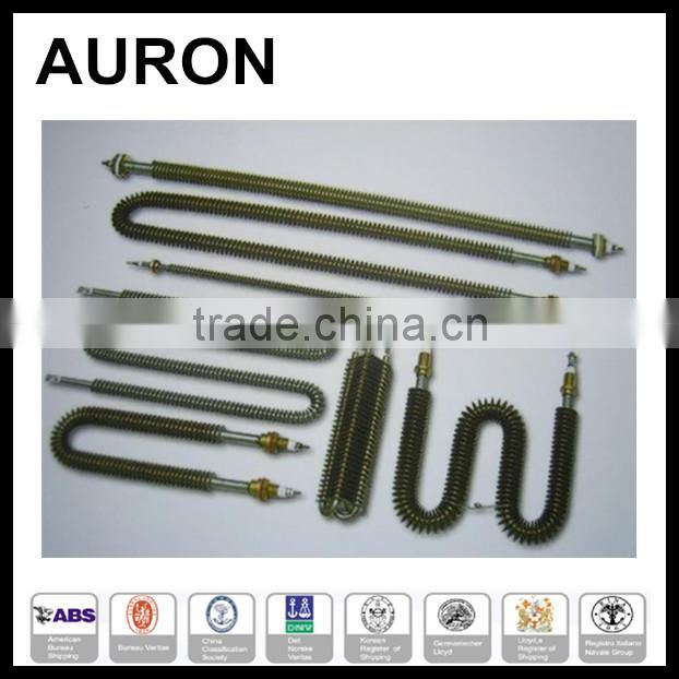 AURON/HEATWELL Solar water heater heating element Congo/Solar collector heating fin tube/ss solar heater fin tube