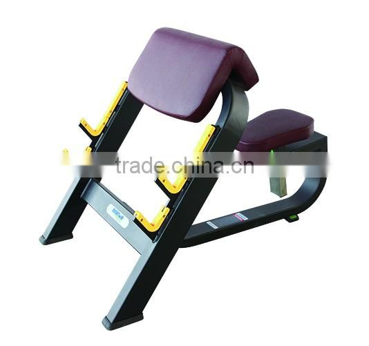 Commercial Fitness Equipment/fitness machine for Gym use /Body Building Machine Scott Bench TW-B050