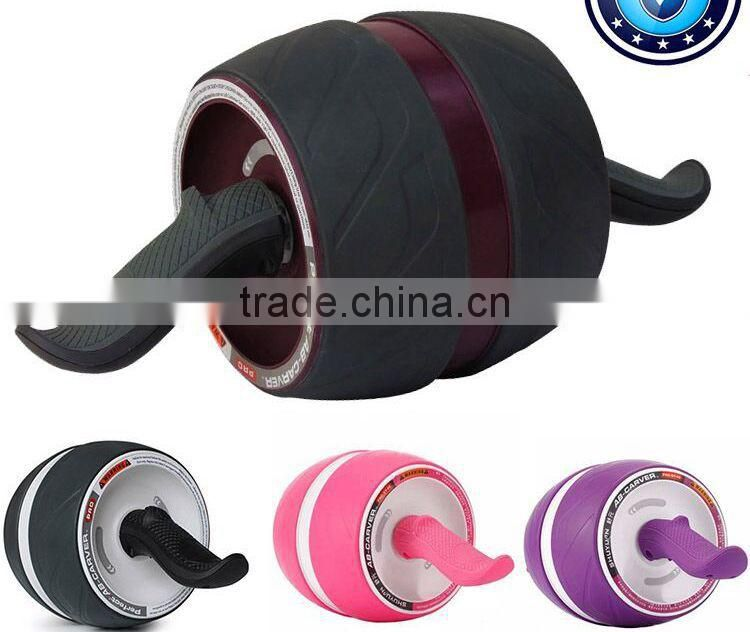 New developed silent mode mute folding abdominal wheel with mat