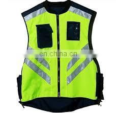 Popular selling reflective riding jacket vest with high quality and low price