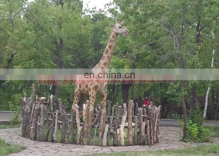 Outdoor giraffe statues for sale