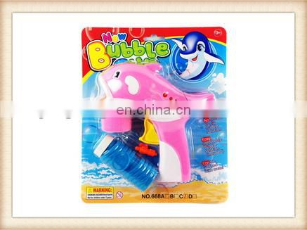 ELECTRIC TOYS LIGHTING DOLPHIN BUBBLE TOYS BUBBLE GUN TOY