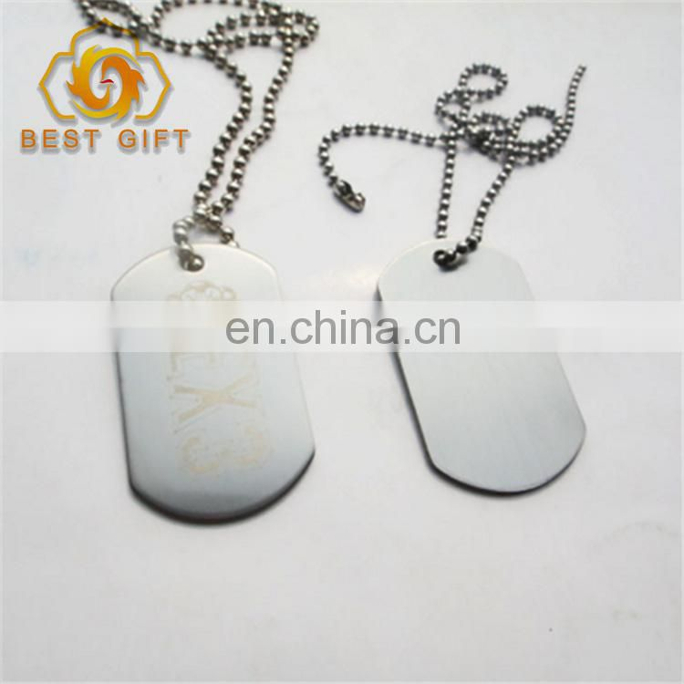 Factory supply guangdong Custom metal dog tag