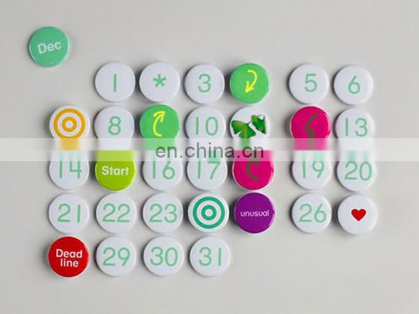 58mm blank badge buttons