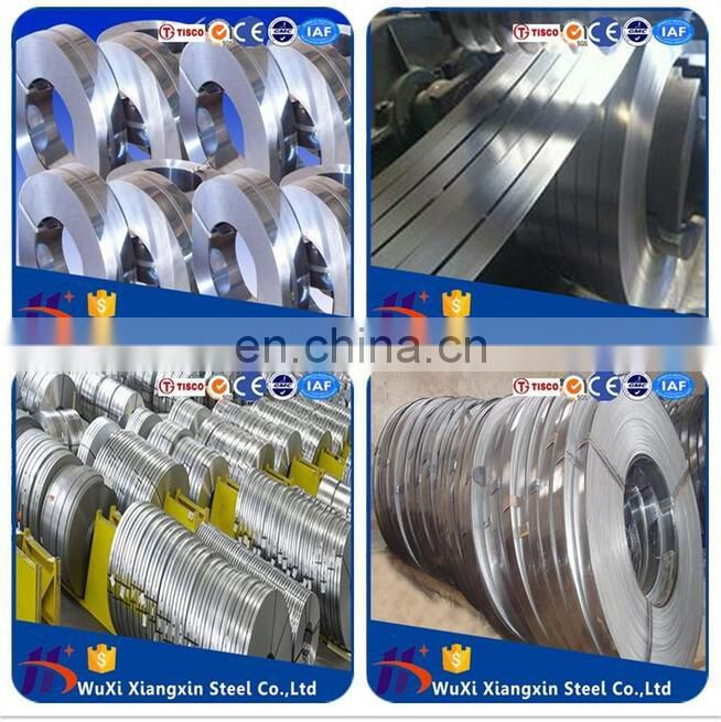 3cr13 stainless steel strip 201 430 for scraper