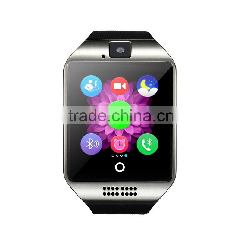 Smart Watch Q18 with Touch Screen NFC camera Dialer TF card Single SIM Phone Bluetooth smartwatch for Android and IOS