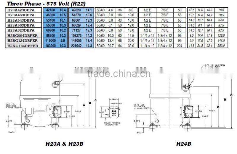 Bristol Compressor Wiring Diagram from timg.china.cn