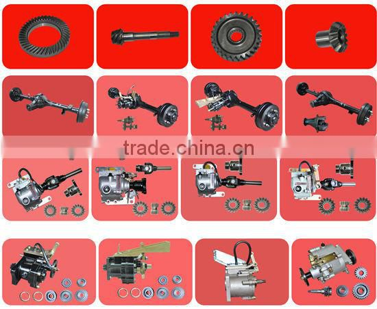 Tricycle component motorcycle 300cc transmission reverse gear with pedal shifting gear