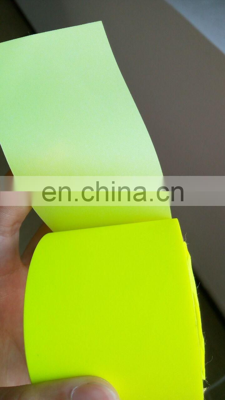 Reflective Colorful Polyester Clear Material Fabric Tape