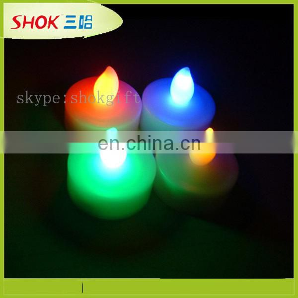 2014 led floating lotus candles