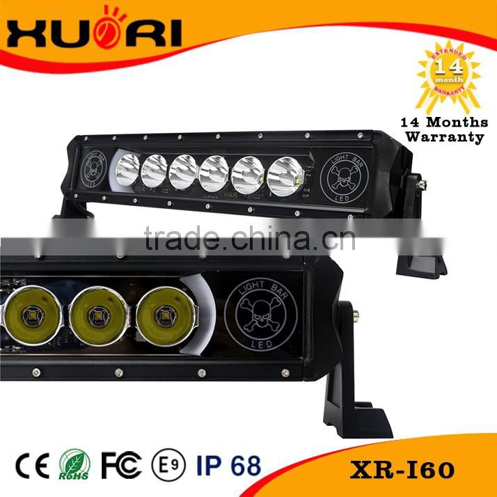 "15""-54"" Waterproof Background-lighting Offroad Led Light Bar Atv Quad Accessories Light Bar For Atv"
