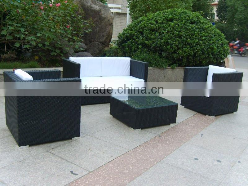 rattan outdoor sofa set for garden/patio