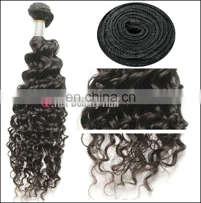 New Products On Market Factory Virgin Weft unprocessed wholesale virgin brazilian hair Deep Wave Hair