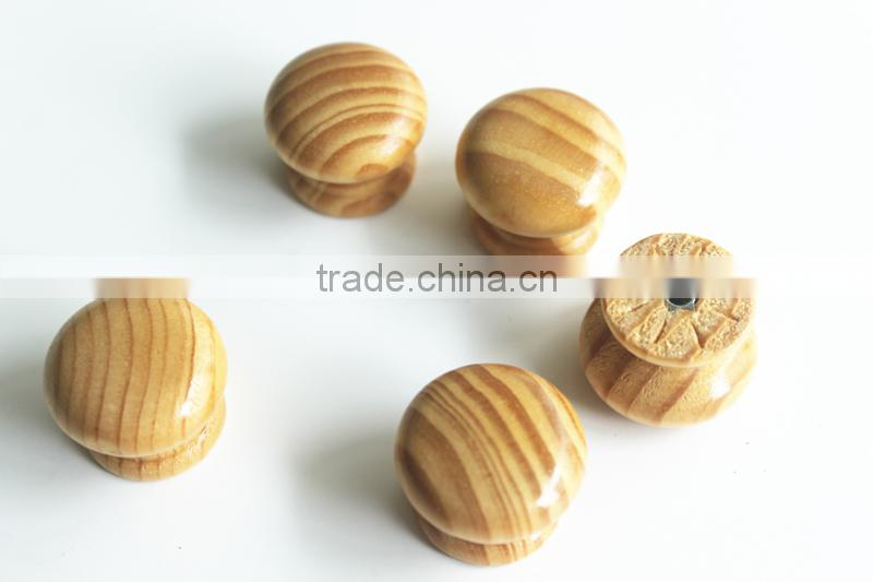 Wholesale furniture cabinet wooden drawer knobs factory