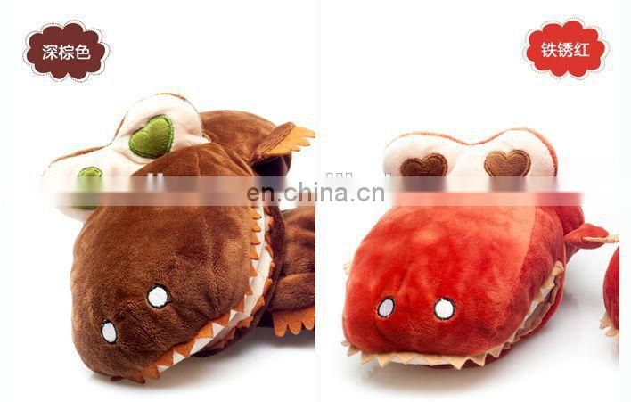 new design useful colorful winter knitted 100% acrylic Animal gloves