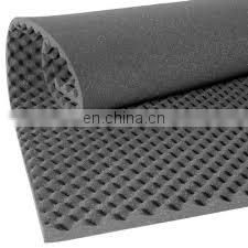 white sound proofing foam block