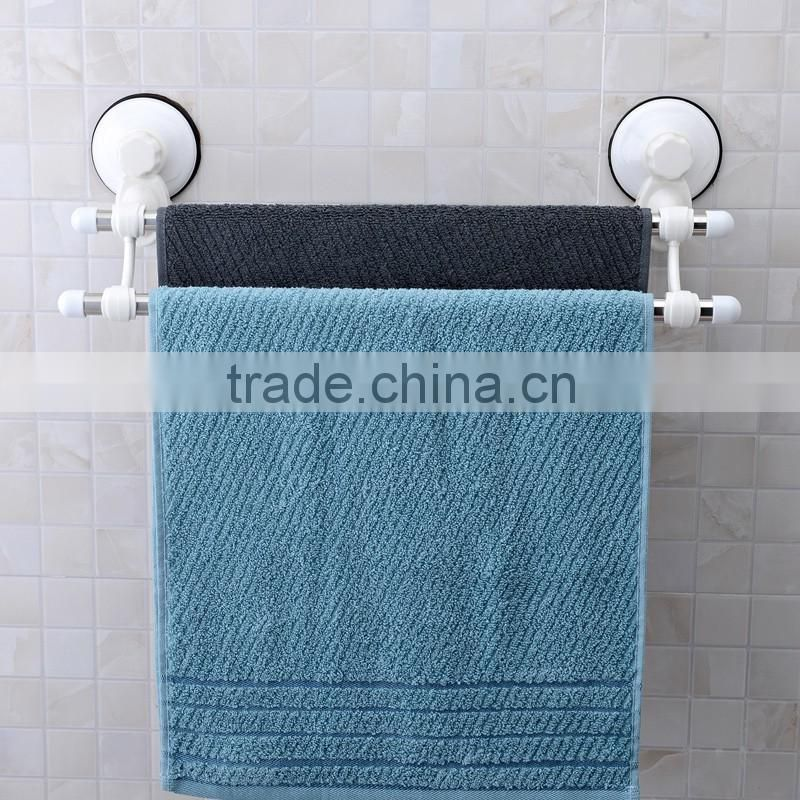 stainless steel bathroom towel racks plastic suction cup holder