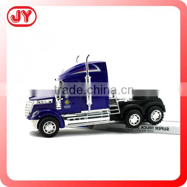 Friction powered plastic toys big car with EN71