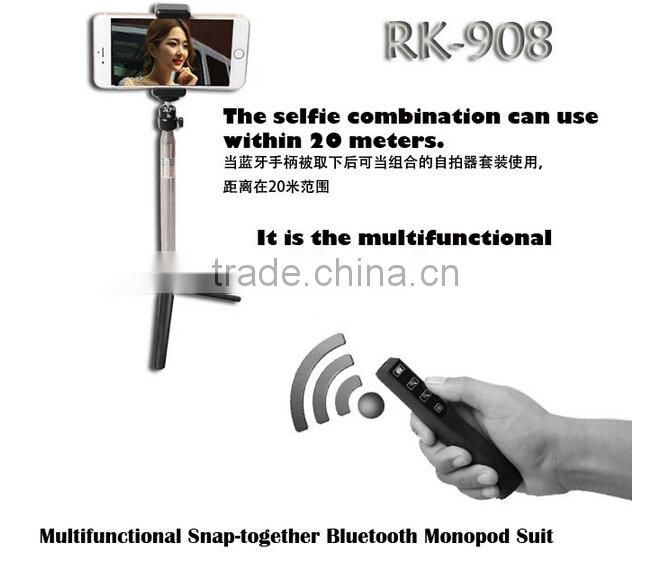 RK908 wireless monopod with ZOOM