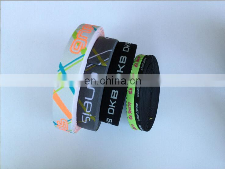 Factory supply wholesale custom jacquard elastic band