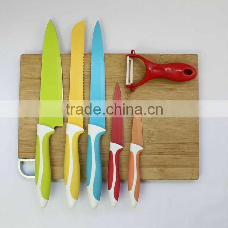 2014 fashion kitchen knife set