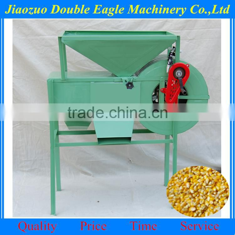 electric/manual grains and seeds cleaning machine corn