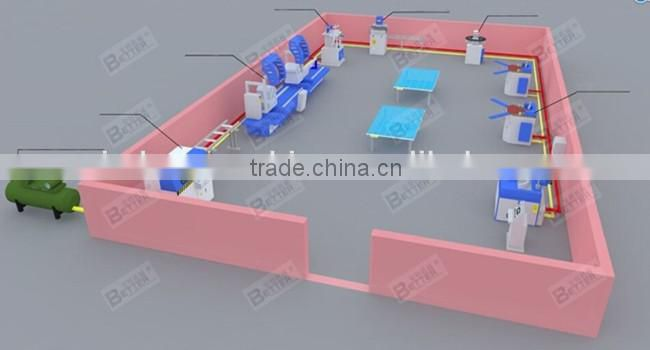 China Aluminum Profile Double Head Cutting Machinery
