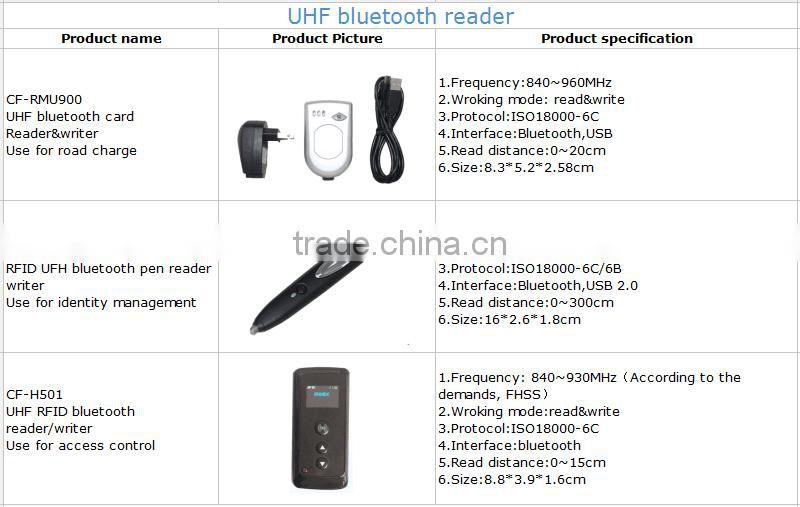 long range bluetooth uhf android rfid reader phone mobile