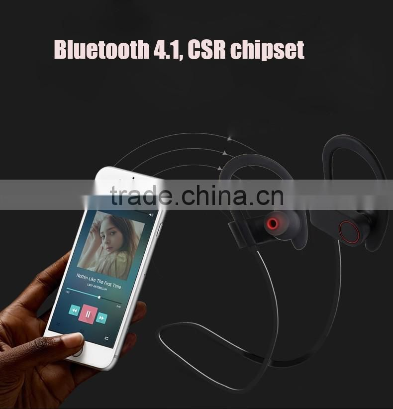 2016 New arrival V4.0 Sport Bluetooth Headpone IPX4 Waterproof bluetooth headset V6