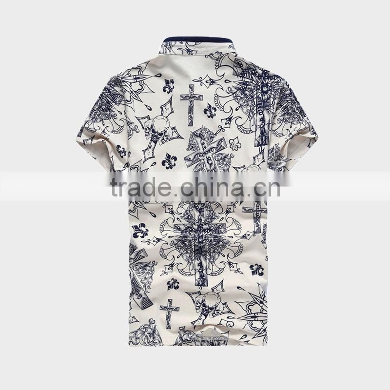 Men's Bulk Polo Shirt With All Over Print