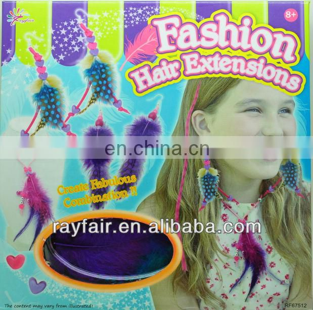 Girls diy Fashion Hair Extensions set