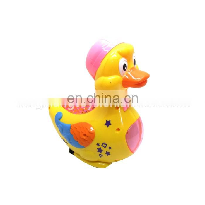 Yellow duck Battery Children electric toy