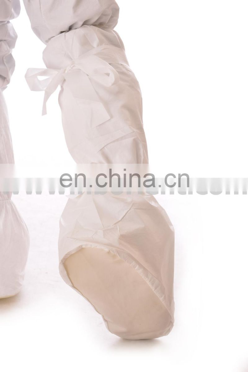 Security non slip work microporous boot covers with PVC sole